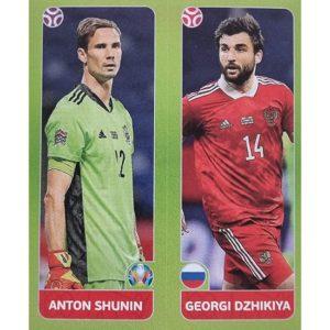 Panini EURO 2020 Sticker Nr 204 Shunin Dzhikiya