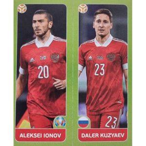 Panini EURO 2020 Sticker Nr 206 Ionov Kuzyaev