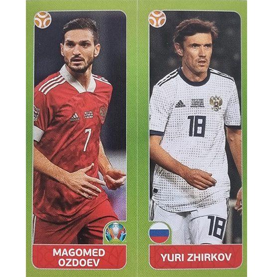 Panini EURO 2020 Sticker Nr 208 Ozdoev Zhirkov