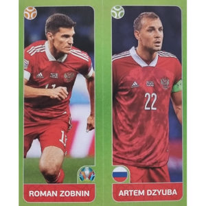 Panini EURO 2020 Sticker Nr 209 Zobnin Dzyuba