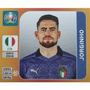 Panini EURO 2020 Sticker Nr 021 Jorginho