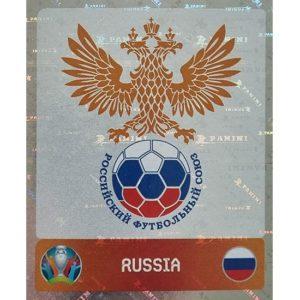 Panini EURO 2020 Sticker Nr 210 Russia Logo