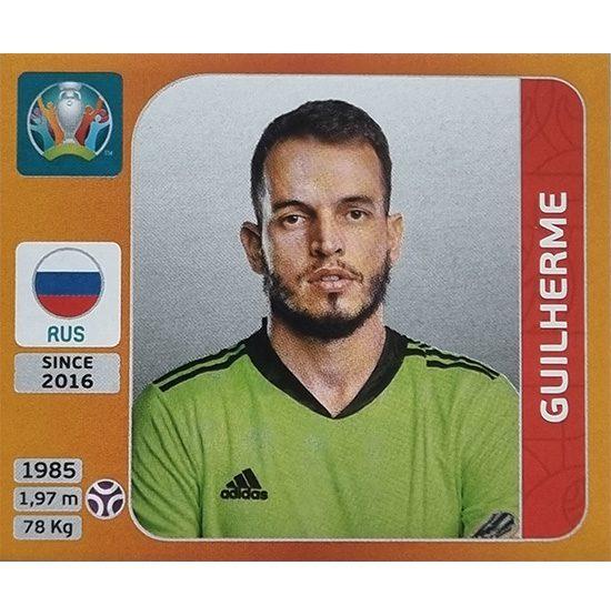Panini EURO 2020 Sticker Nr 212 Guilherme
