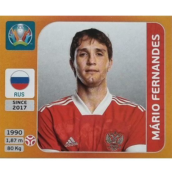 Panini EURO 2020 Sticker Nr 216 Mario Fernandes
