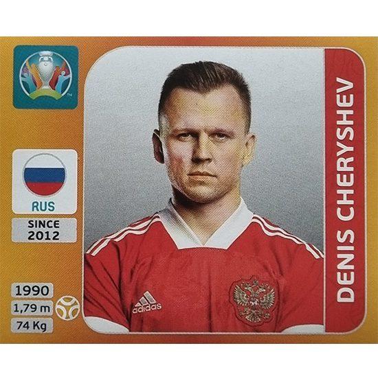 Panini EURO 2020 Sticker Nr 219 Denis Cheryshev