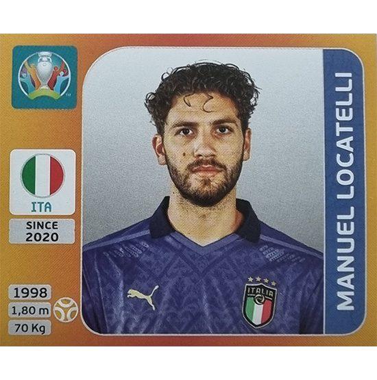 Panini EURO 2020 Sticker Nr 022 Manuel Locatelli