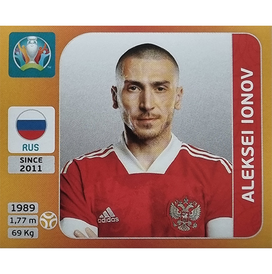 Panini EURO 2020 Sticker Nr 222 Aleksei Ionov