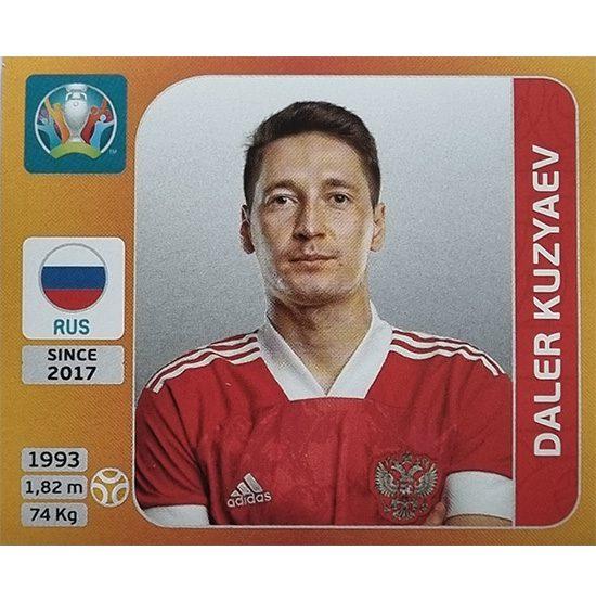 Panini EURO 2020 Sticker Nr 223 Daler Kuzyaev