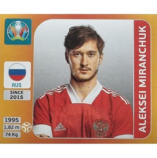 Panini EURO 2020 Sticker Nr 224 Aleksei Miranchuk