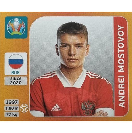 Panini EURO 2020 Sticker Nr 226 Andrei Mostovoy