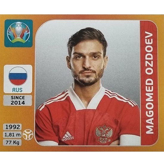 Panini EURO 2020 Sticker Nr 227 Magomed Ozdoev