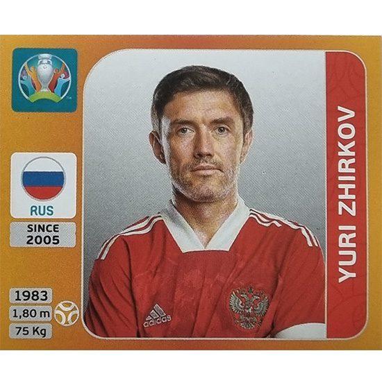 Panini EURO 2020 Sticker Nr 228 Yuri Zhirkov