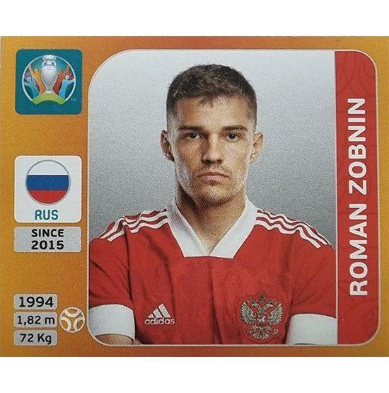 Panini EURO 2020 Sticker Nr 229 Roman Zobnin