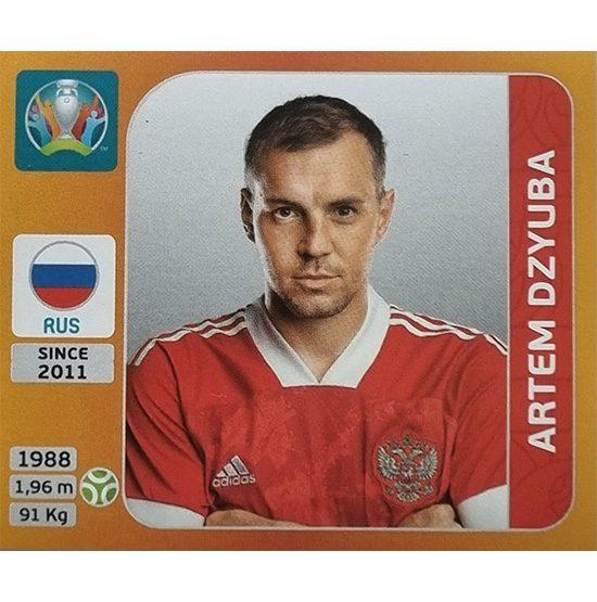Panini EURO 2020 Sticker Nr 230 Artem Dzyuba
