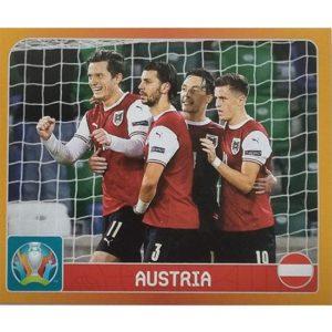 Panini EURO 2020 Sticker Nr 231 Austria