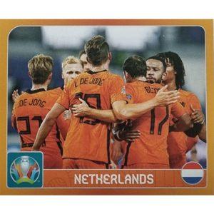 Panini EURO 2020 Sticker Nr 232 Netherlands