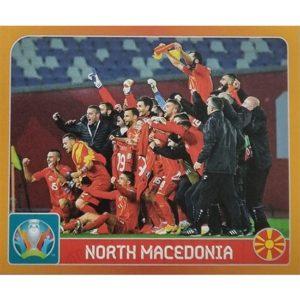 Panini EURO 2020 Sticker Nr 233 North Macedonia
