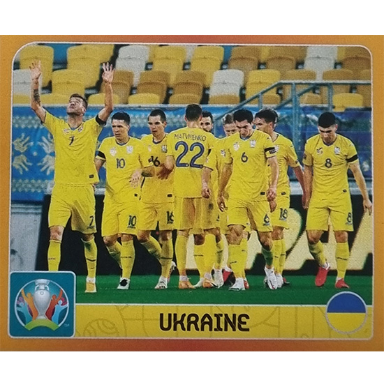 Panini EURO 2020 Sticker Nr 234 Ukraine