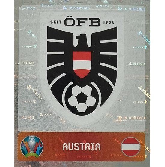 Panini EURO 2020 Sticker Nr 235 Austria Logo