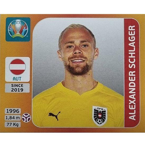 Panini EURO 2020 Sticker Nr 237 Aklexander Schlager