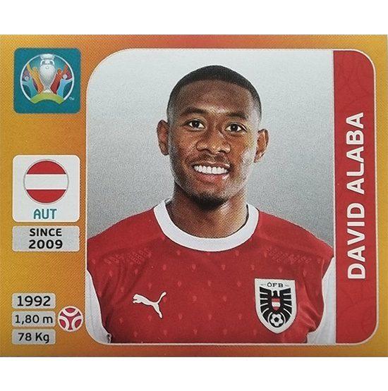 Panini EURO 2020 Sticker Nr 238 David Alaba