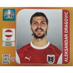 Panini EURO 2020 Sticker Nr 239 Aleksandar Dragovic