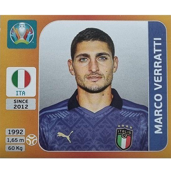 Panini EURO 2020 Sticker Nr 024 Marco Verratti