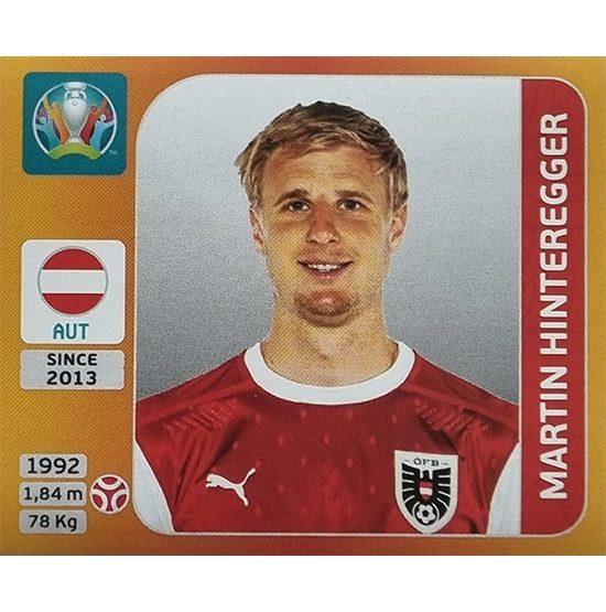 Panini EURO 2020 Sticker Nr 240 Martin Hinteregger