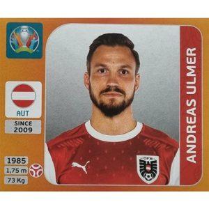 Panini EURO 2020 Sticker Nr 244 Andreas Ulmer