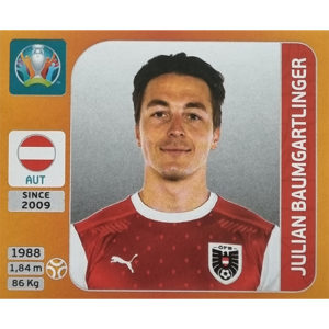 Panini EURO 2020 Sticker Nr 245 Julian Baumgartlinger