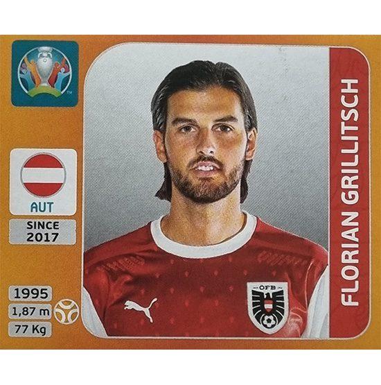 Panini EURO 2020 Sticker Nr 247 Florian Grillitsch