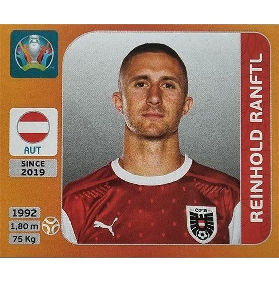 Panini EURO 2020 Sticker Nr 249 Reinhold Ranftl