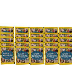 Panini Tierische Internetstars Sticker - 25 x Stickertüten