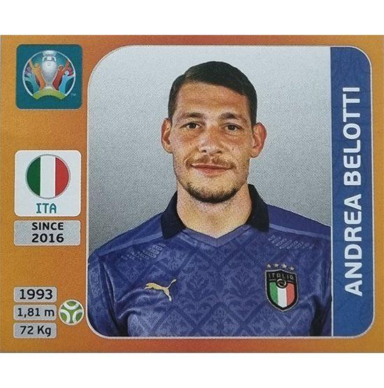 Panini EURO 2020 Sticker Nr 025 Andrea Belotti