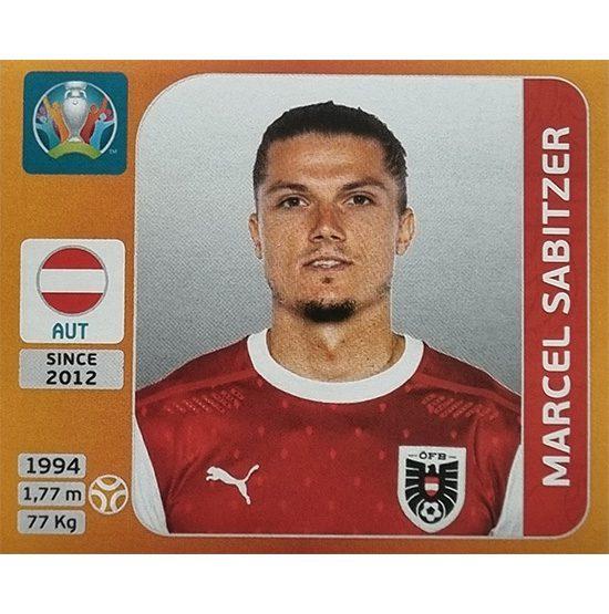 Panini EURO 2020 Sticker Nr 250 Marcel Sabitzer