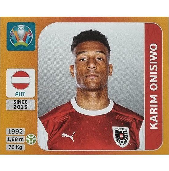 Panini EURO 2020 Sticker Nr 255 Karim Onisiwo