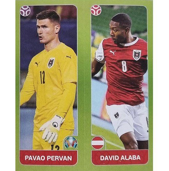 Panini EURO 2020 Sticker Nr 256 Pervan Alaba