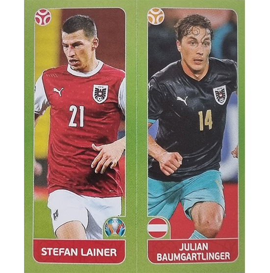 Panini EURO 2020 Sticker Nr 258 Lainer Baumgartlinger