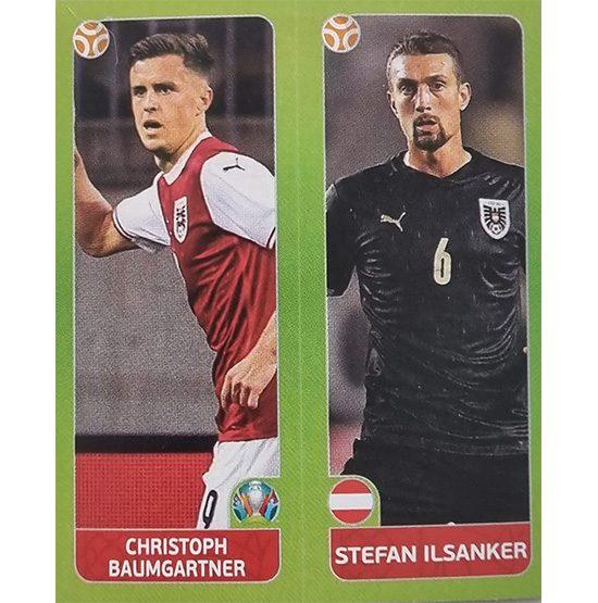 Panini EURO 2020 Sticker Nr 259 Baumgartner Ilsanker
