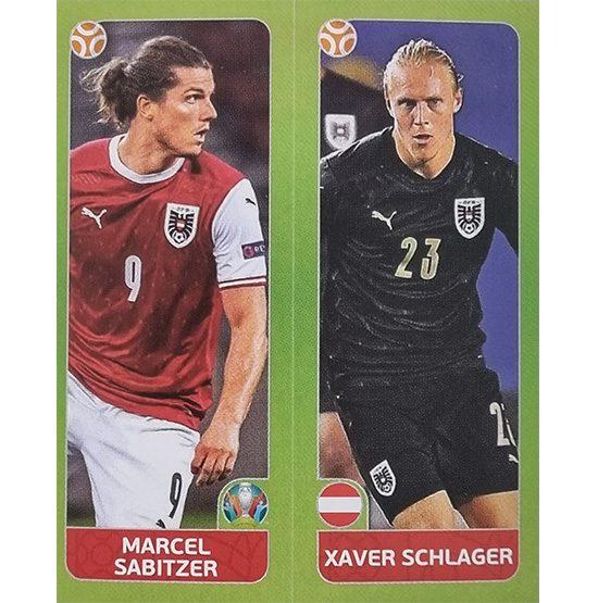 Panini EURO 2020 Sticker Nr 260 Sabitzer Schlager