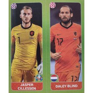 Panini EURO 2020 Sticker Nr 262 Cillessen Blind