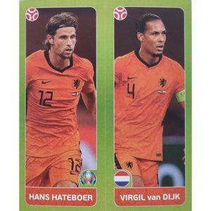 Panini EURO 2020 Sticker Nr 264 Hateboer Van Dijk