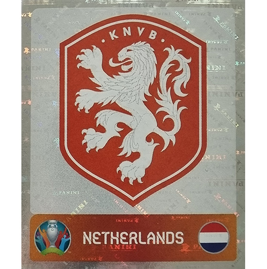 Panini EURO 2020 Sticker Nr 268 Netherlands Logo