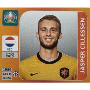 Panini EURO 2020 Sticker Nr 269 Jasper Cillessen