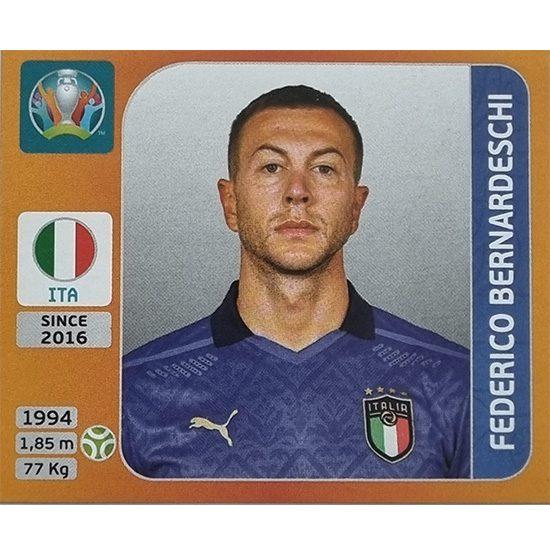 Panini EURO 2020 Sticker Nr 027 Federico Bernardeschi
