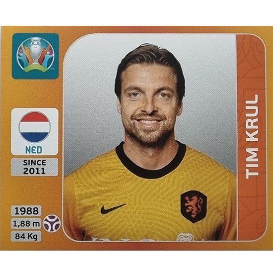 Panini EURO 2020 Sticker Nr 270 Tim Krul
