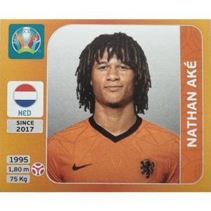 Panini EURO 2020 Sticker Nr 271 Nathan Ake