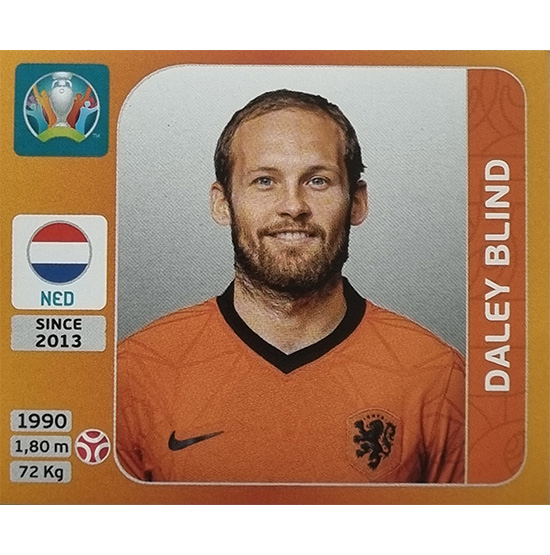 Panini EURO 2020 Sticker Nr 272 Daley Blind
