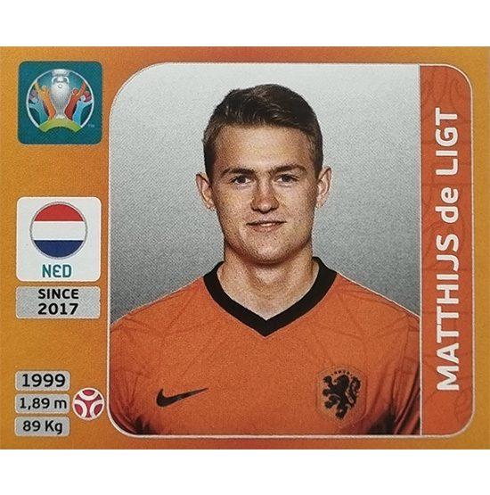 Panini EURO 2020 Sticker Nr 273 Matthijs de Ligt