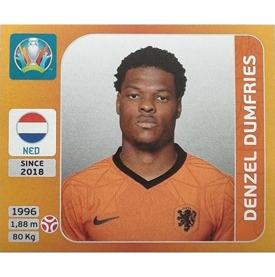 Panini EURO 2020 Sticker Nr 275 Denzel Dumfries